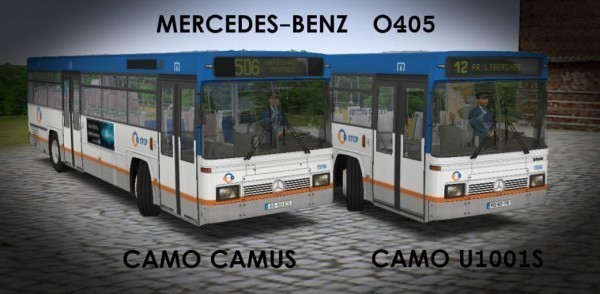 Mercedes-Benz O405 Camo U1001S / Camo Camus Download