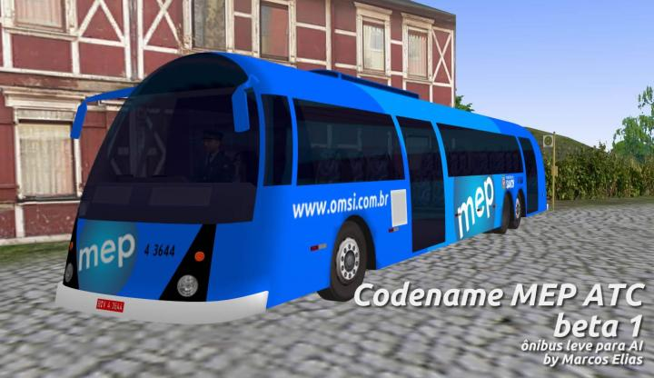 Novo ônibus MEP trucado de 15m (beta) para download!