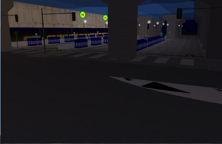 Interior da Estação Rui Barbosa (embaixo do CPC) - Anexo para ônibus intermunicipais