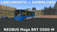 LANÇAMENTO OMSI 2 – NEOBUS Mega BRT O500-M [+DOWNLOAD]