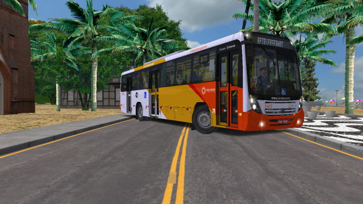 (Download ) Neobus Mega 2006 MBB OF 1724 BT5 – By Eduardo Felipe ( NOVO)