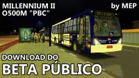 Beta público do Millennium II PBC O500M