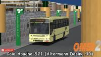 Lançamento OMSI 2 – Caio Apache S21 (Altermann Desing 3D)