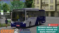 Neobus Mega 2006 Scania F250HB 6×2