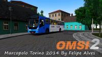 OMSI 2 – Marcopolo Torino 2014 By Felipe Alves