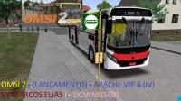OMSI 2 -(LANÇAMENTO) APACHE VIP 4 (IV) A/C MB 1721 BY MARCOS ELIAS (+ DOWNLOAD)