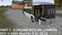 OMSI 2 – (LANÇAMENTO) CAIO MILLENNIUM BRT O-500U BlueTec 5 AC BETA (+ DOWNLOAD)