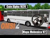 OMSI 2 – Caio Alpha 1620 – Mapa Mobenica V2