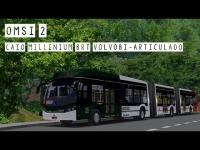 OMSI 2 – Caio Millenium BRT Volvo B360S Bi articulado