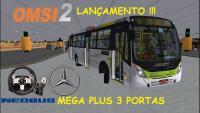 OMSI 2 – LANÇAMENTO !!! Neobus Mega Plus 3 Portas MB OF-1721 EV [+Download]