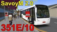 Savoy Municipal 2.0 – Viagem na 351E-10 – Cj Encosta Norte – Term. Belém