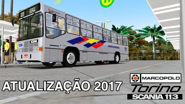 Ronaldo Aguial Design – Atualização Marcopolo Torino LN Scania F113 HL – OMSI