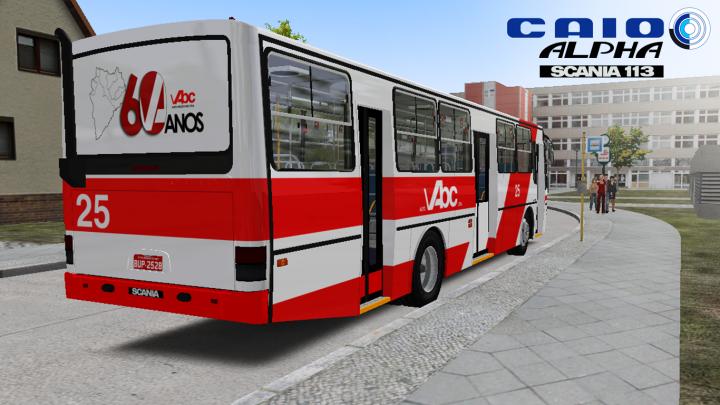 Ronaldo Aguial Design – Caio Alpha II Scania F113 HL – OMSI