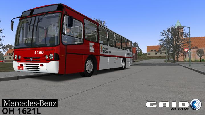 Ronaldo Aguial Design – Caio Alpha II MBB OH 1621L – OMSI