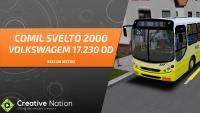 OMSI 2 – COMIL SVELTO 2000 VW 17.230 EOD – 5522 DA WILSON – MAPA CAMPO GRANDE LINHA 26 (VOLTA)