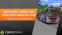 OMSI 2 – TORINO 2007 MB OF-1418 COM ELEVADOR FUNCIONAL [+DOWNLOAD] – MAPA CAMPO GRANDE LINHA 108 (VOLTA)