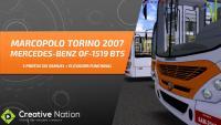 OMSI 2 – TORINO 2007 MB OF-1519 BT5 COM ELEVADOR FUNCIONAL [+Download] – MAPA CAMPO GRANDE 9.0 LINHA 108 (IDA)