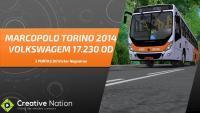 OMSI 2 – TORINO 2014 VOLKS 17.230 –  MAPA Fikcyjny Szczecin LINHA 865 (IDA)