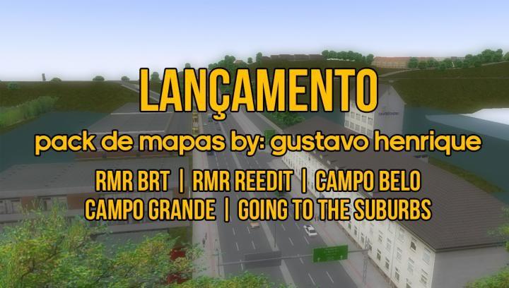 LANÇAMENTO Pack de Mapas BY: Gustavo Henrique