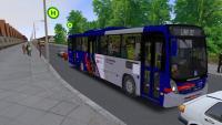 Omsi 2 Neobus Mega 2006 MB OF-1721 Blue Tec 5 no Mapa Carrão city + Download