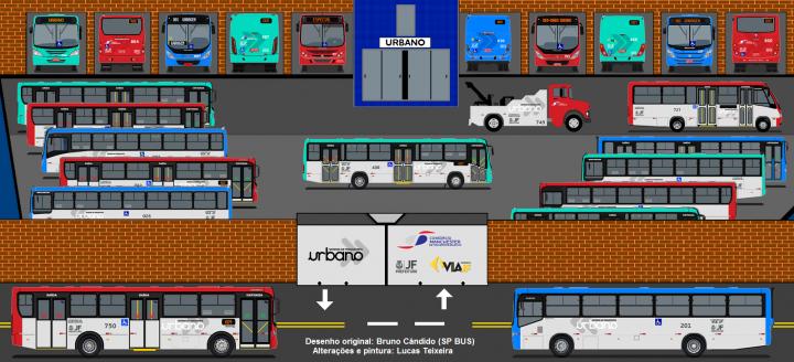 Garagem de Ônibus