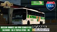 Busscar Jumbuss 360 Scania K124 -São Geraldo