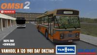Vanhool A 120 1981 DAF DKC 1160