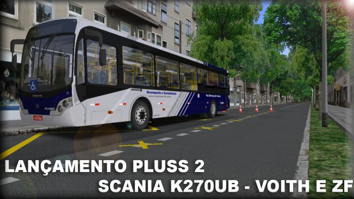 Busscar Urbannus Pluss 2 Scania K270UB Voith e ZF- By Eduardo Felipe