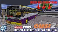 OMSI 2 Busscar Urbanuss 3 portas MBB E VW