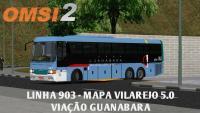 OMSI 2 – LINHA 903 – VIAÇÃO GUANABARA (MAPA VILAREJO 5.0)