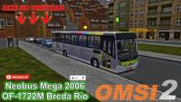 OMSI 2 Neobus Mega 2006 OF-1722M Breda Rio