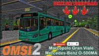 OMSI 2 – Marcopolo Gran Viale Mercedes-Benz O-500MA