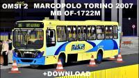 Omsi 2 Marcopolo Torino 2007 MB OF-1722M Padrão Master no mapa Auto Estrada na L305 + (Download).