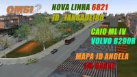 Fala Galera Mais Uma Linha Nova 6821 da Campo Belo SP ( Mapa SP Z/S JD Angela em Desenvolvimento )