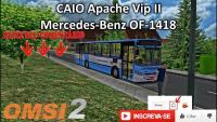 (OMSI 2) CAIO Apache Vip II Mercedes-Benz OF-1418