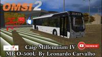 OMSI 2 Caio Millennium IV MB O-500U By Leonardo Carvalho