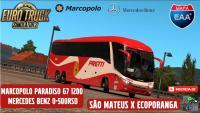 Marcopolo Paradiso G7 1200 Skin Viação Pretti