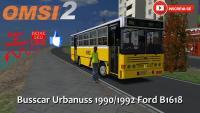 OMSI 2 Busscar Urbanuss 1990/1992 Ford B1618