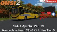OMSI 2 – CAIO Apache VIP IV Mercedes-Benz OF-1721 BlueTec 5