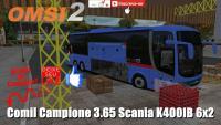 OMSI 2 Comil Campione 3.65 Scania K400IB 6×2