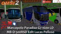 OMSI 2 Marcopolo Paradiso G7 1600 LD MB O-500RSD Edit Lucas Pelloso