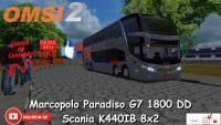 OMSI 2 – Marcopolo Paradiso G7 1800 DD Scania K440IB 8×2 [PRIVADO]