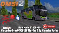 OMSI 2 Marcopolo Paradiso G7 1800 DD Mercedes-Benz O-500RSD BlueTec 5 By Miqueias Rocha