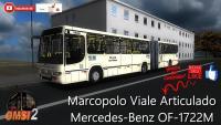 OMSI 2 Marcopolo Viale Articulado Mercedes-Benz OF-1722M