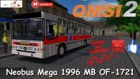 OMSI 2 Neobus Mega 1996 MB OF-1721