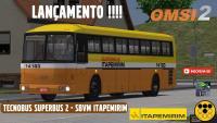 Tecnobus Superbus 2 – SBVM Itapemirim LANÇAMENTO !!!