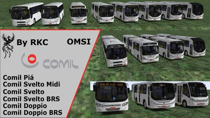 Comil Pack – OMSI 1e2