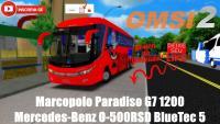 OMSI 2 – Marcopolo Paradiso G7 1200 Mercedes-Benz O-500RSD BlueTec 5