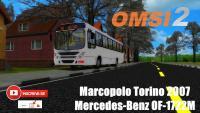 OMSI 2 – Marcopolo Torino 2007 Mercedes-Benz OF-1722M