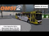 OMSI 2 Caio Apache VIP 4 Mercedes-Benz 1721 EV BY DOUGLAS VICENTE